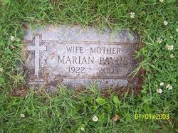 Marian <I>Plank</I> Payne