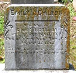 Emily Virginia <I>Chilton</I> Maverick