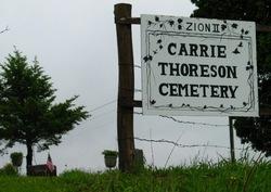 Carrie Thoreson  Cemetery