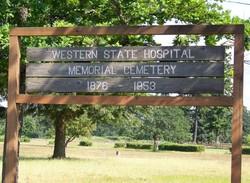 Western State Hospital Memorial Cemetery