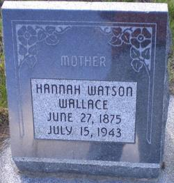 Hannah Watson Wallace