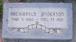 Archibaeld Anderson