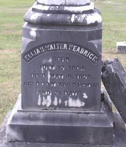 Elijah Walter Headrick