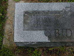 Mary Marie <I>Coolman</I> Biddle