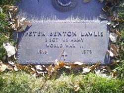 SSGT Peter Benton Lawlis