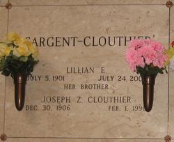 Lillian E <I>Clouthier</I> Sargent