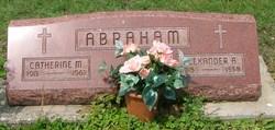 Catherine <I>Lorenz</I> Abraham