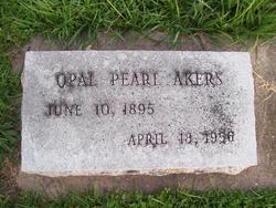Opal Pearl <I>Smith</I> Akers