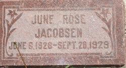 June Rose Jacobsen