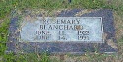 Rosemary Blanchard