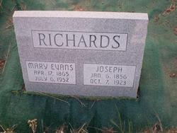 Mary Catherine <I>Evans</I> Richards