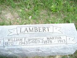 William F Lambert