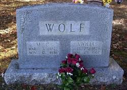 """Ruthie Violia """"Bolie"""" <I>Herd</I> Wolf"""