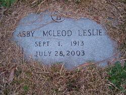 Asby Mae <I>Vest</I> Leslie