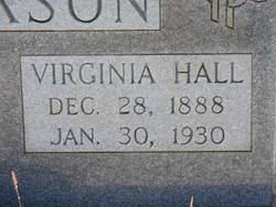 Virginia <I>Hall</I> Dickson