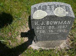 Harriet J. <I>Paul</I> Bowman