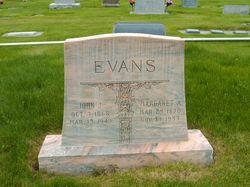 Margaret Ann <I>Adams</I> Evans