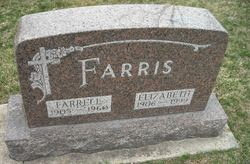 "Sarah Elizabeth ""Betty"" <I>Rothrock</I> Farris"