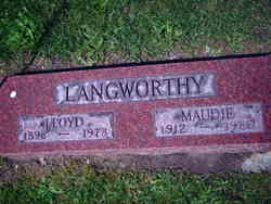 "Theresa Maud ""Maudie"" <I>Moll</I> Langworthy"
