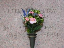 Etta Margaret <I>Curtis</I> Libby