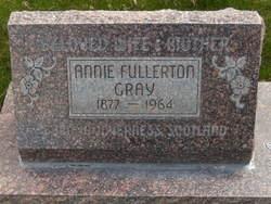 Annie Margaret <I>Fullerton</I> Gray