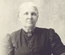 Louise Caroline <I>Peterson</I> Burdette