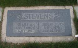 Clara Ann <I>Wrigley</I> Stevens