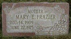 Mary Estella <I>Center</I> Frazier