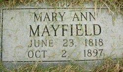 Mary Ann <I>Mayfield</I> Kiddy