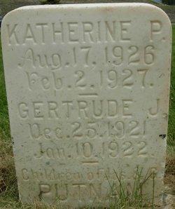 Gertrude Jennie Putnam