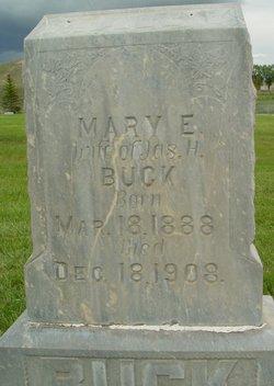 Mary Emma <I>Dawson</I> Buck