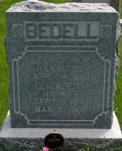 Elizabeth <I>Lemmon</I> Bedell