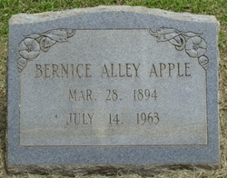 Bernice Hulda <I>Alley</I> Apple