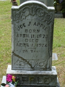 "Joseph Johnson ""Joe"" Apple"
