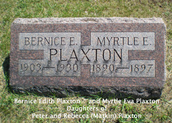 Myrtle Eva Plaxton