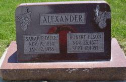 Sarah P. <I>Duke</I> Alexander