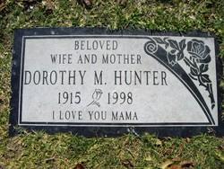 Dorothy M <I>Sheehan</I> Hunter