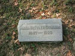 Anna <I>Beitler</I> Downing