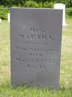Martha <I>Brewster</I> Sprague