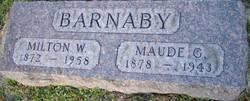 Maude Gay <I>Pullen</I> Barnaby