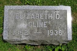 Elizabeth <I>Daubenspeck</I> Cline