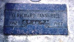 Oliver Richard Tannahill