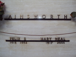 Mary Neal <I>Collins</I> Ainsworth