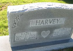 Hazel Ellen <I>Dickey</I> Harvey