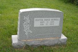 Olevia <I>Davis</I> Runkel