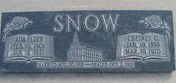 Ada Francis <I>Elder</I> Snow