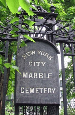 New York City Marble Cemetery