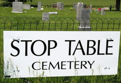Stop Table Cemetery