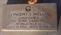 PFC Vincent J Aiello