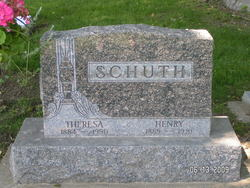 Henry A Schuth 1889 1981